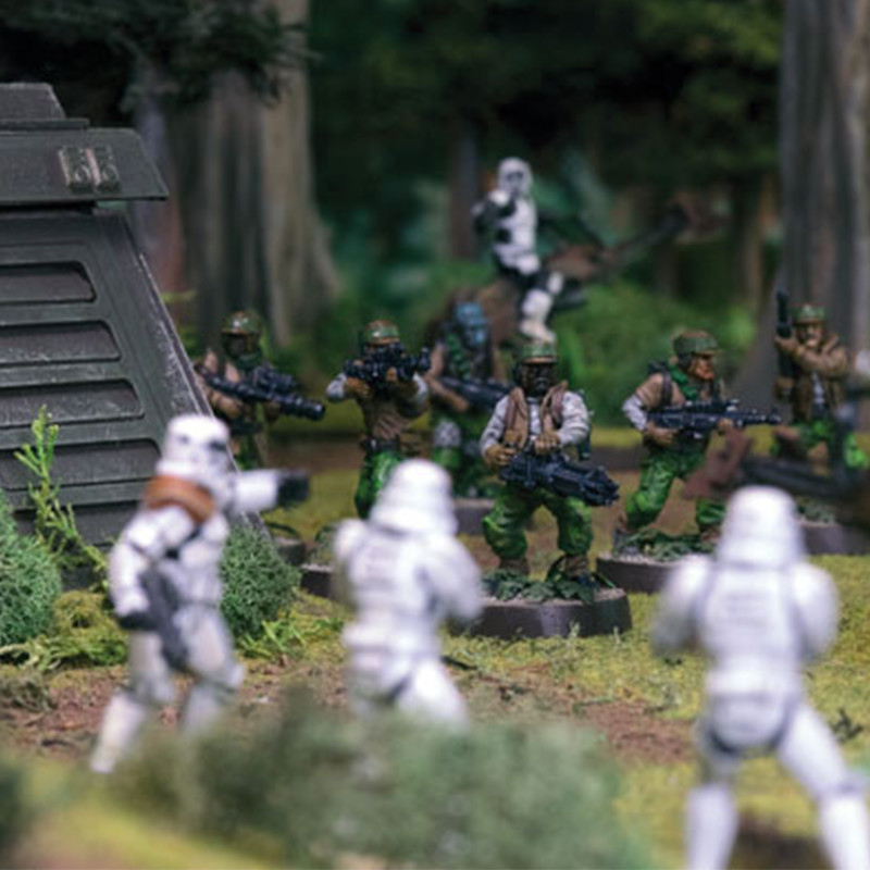 17 Star Wars Legion 2 - Demospiele: STAR WARS LEGION