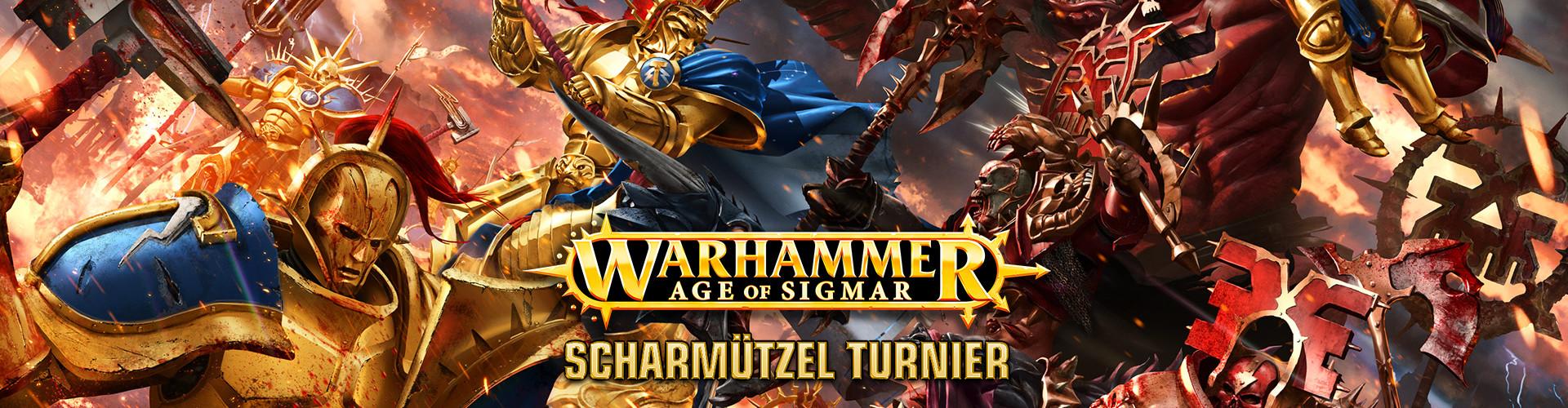 TNM 04 Age of sigma scharmuetzel - Turnier: WARHAMMER Age of Sigmar