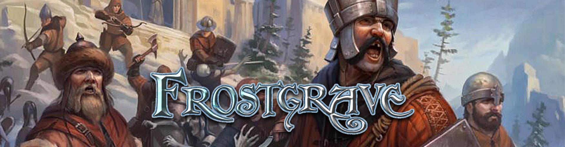 frostgrave - Demospiele: FROSTGRAVE